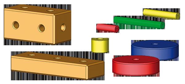 Construction units / spare parts