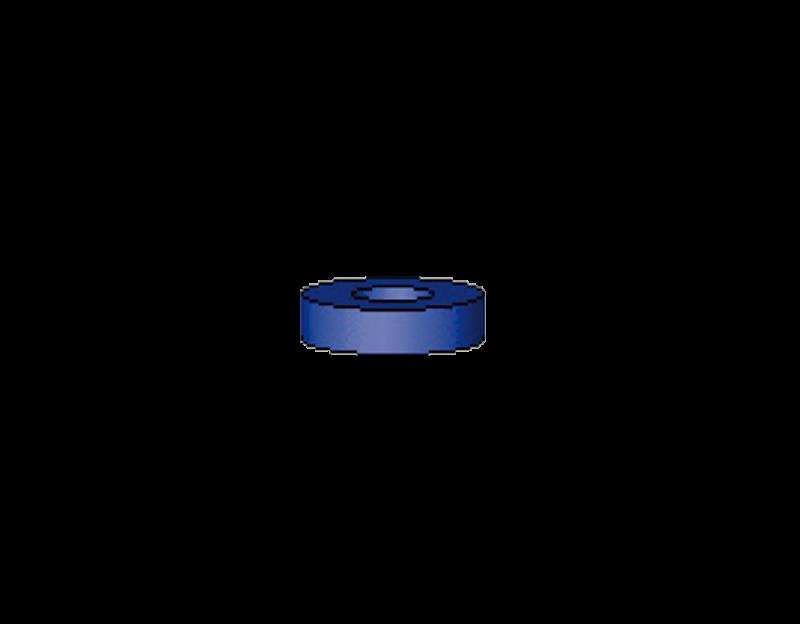 Vorstecker für Stäbe blau 2,5 mm