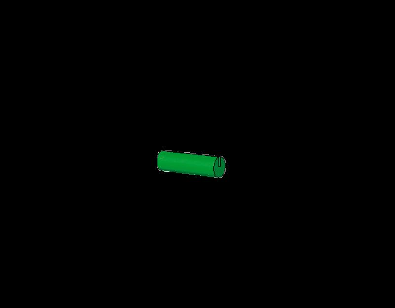 15mm lange Stäbchen (grün)