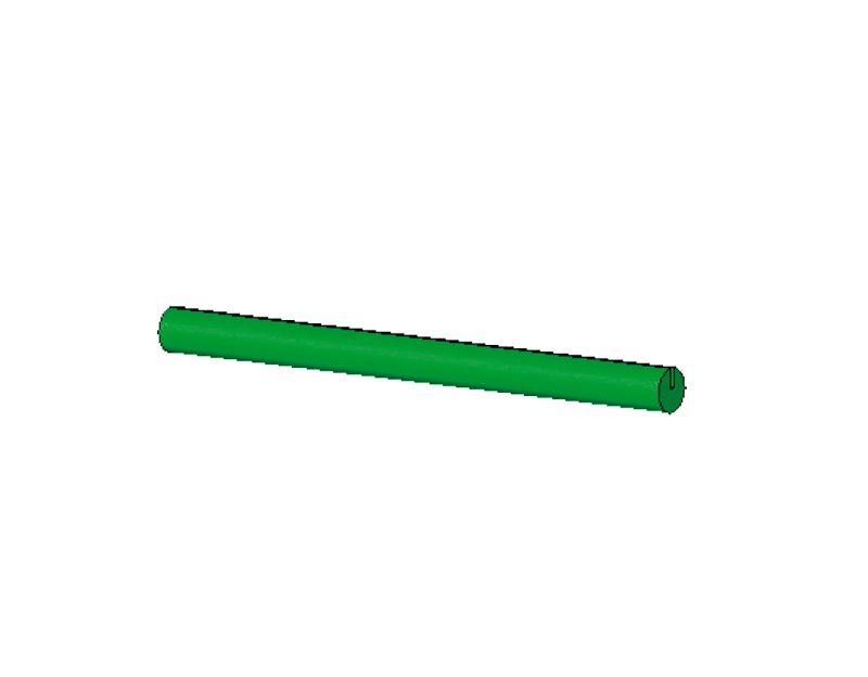 60mm pin green