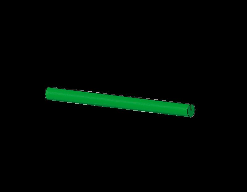 60mm lange Stäbchen (grün)