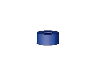 Vorstecker für Stäbe blau 5 mm