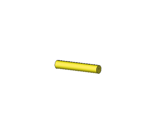 27mm pin yellow